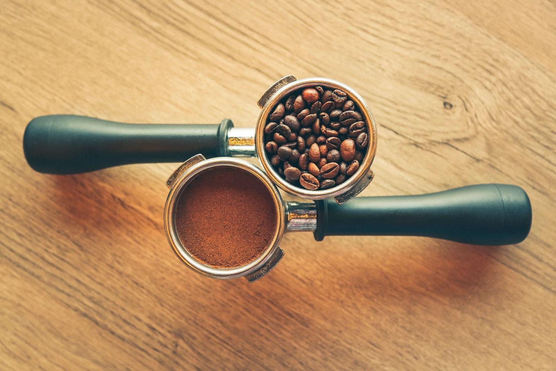 молотый зерновой кофе