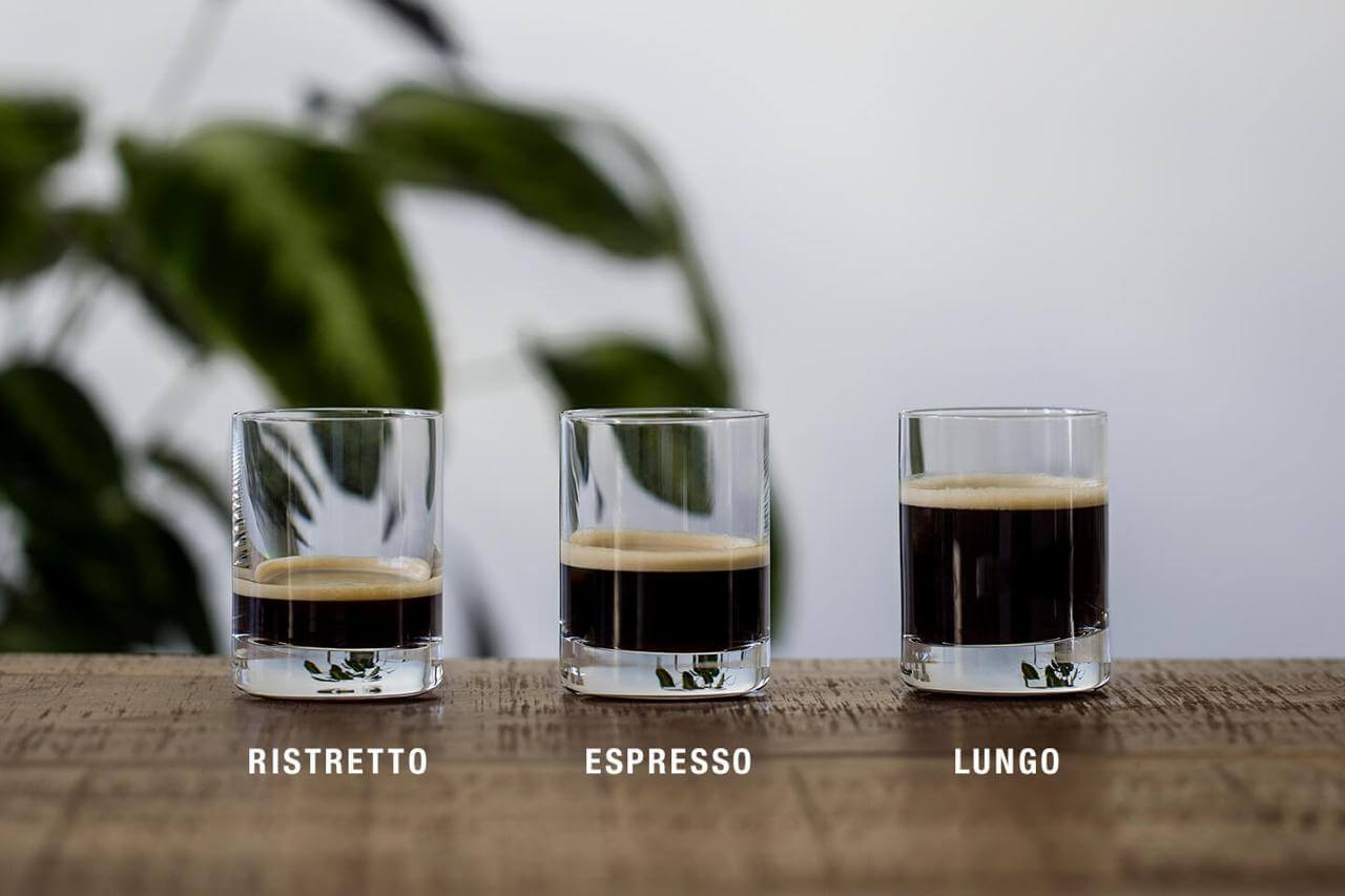 три вида эспрессо